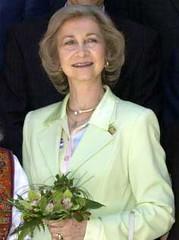 La reina Sofía de Epaña