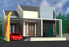 Desain Rumah Cimanggis-Depok-1 by Indograha Arsitama by Indograha Arsitama Desain & Build