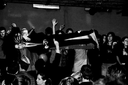 More Crowd Surfing