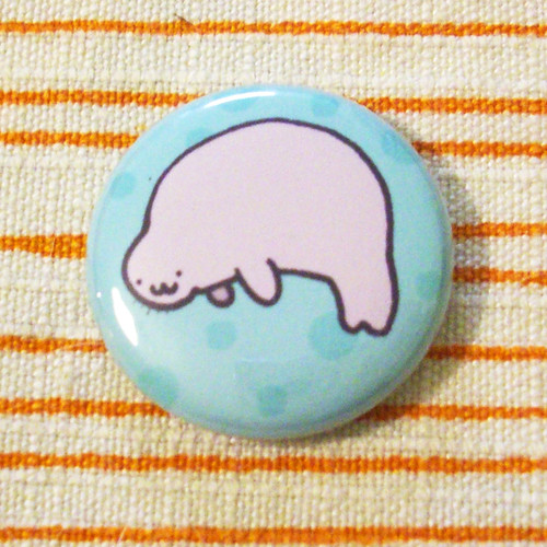 manatee button