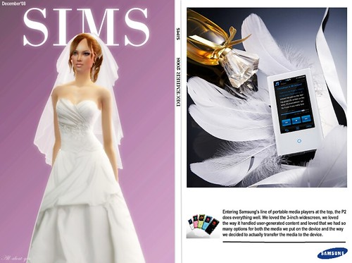 Sims2 magazine by All-about-you.