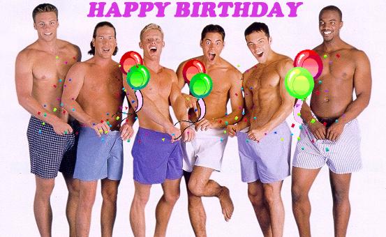 Поздравление с днем рождения для геев