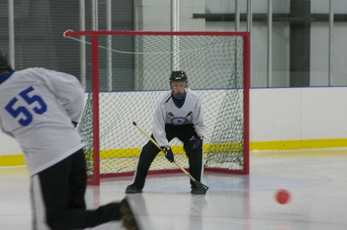 Goalie Work