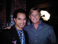 Diegodiego & Christopher Atkins (gatolocomusic) Tags: music famous entertainment spanish international worldwide latin actor celebrities popular diegodiego