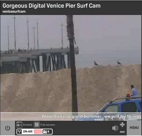 Venice Beach Pier Cam