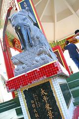 Stone elephant