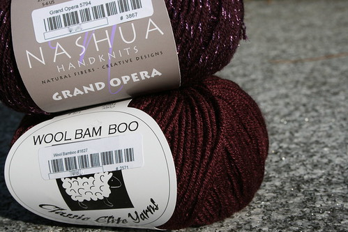 Yarn for Broderie