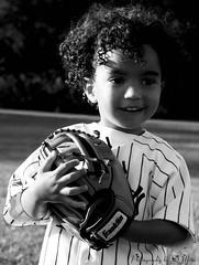 Tyler (DSC_1475E) (Photography by D Mesa) Tags: boy happy nikon baseball young nino tone nene mitt bambino contento d80 photographybydmesa