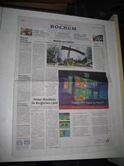 WAZ Bochum am 29.11.2008