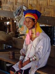 Long neck Hill-tribe 2 (sawaddeedave) Tags: thailand longneck padang hilltribe maehongson burmeseborder