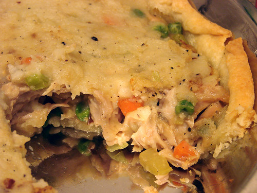Mmm.  Turkey Leek Pot Pie