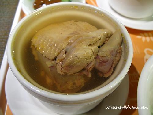 何善之誠品美食街原盅雞湯