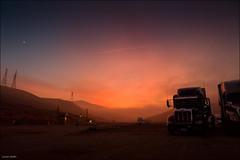 Sky in fire ! (Lucas Janin | www.lucas3d.com) Tags: california blue red sky usa cloud mountain color truck sunrise landscape iso3200 nikon ciel 24mm f80 nikkor paysage lightroom flickraward nikond700 lucasjanin afsnikkor2470mmf28ged nikonflickraward sec