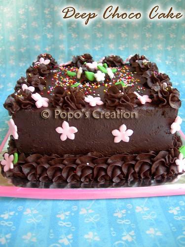 Deep Choco Cake