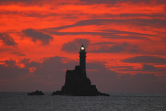 Fastnet Rock (Ronan.McLaughlin) Tags: ocean blue ireland sea white nature water nikon marine cork atlantic explore shore maritime fastnet d80 sigma150500