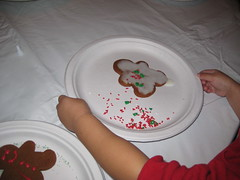 Gingerbread man for daddy