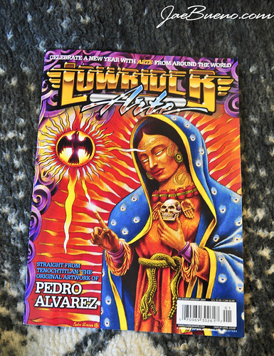 lowrider art tattoos. issue of Lowrider Arte.