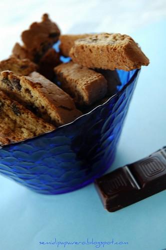 Cantuccini con gocce di cioccolato