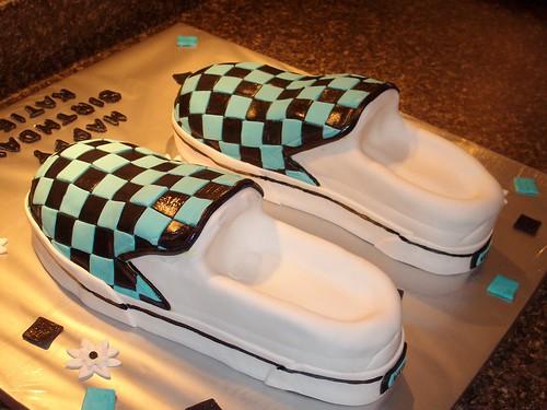 Vanz shoe cake