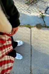 q9 (Adam Seth) Tags: shoes sidewalk dirtyshoes