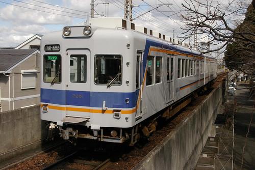 Nankai2230series in Kishiwada,Kishiwada,Osaka,Japan 2009/2/17