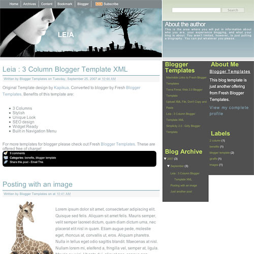 Download Template Blog Gratis
