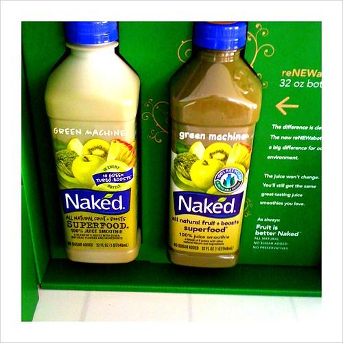 naked's repackaging