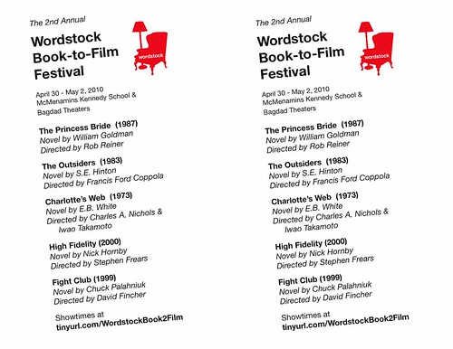 Wordstock Book-to-Film Festival