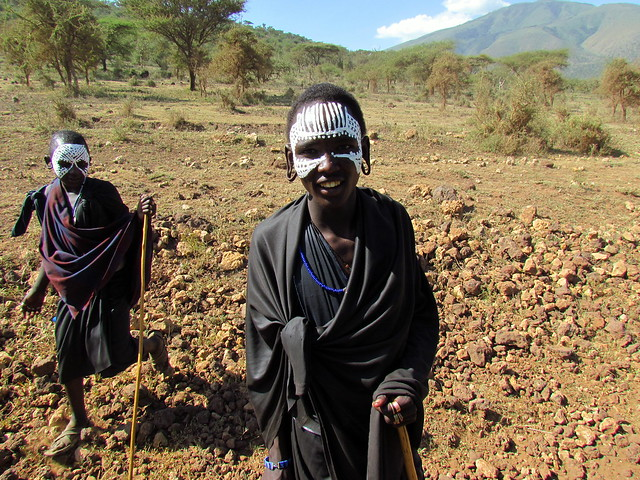 Maasai People - Masai - Warriors - Ngorongoro, Tanzania, Africa