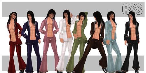 A:S:S - James, velvet suits