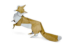 Fox (Hoang) (cavemanboon*) Tags: singapore origami fox malaysia aesopsfables sourgrapes   cavemanboon hoangtienquyet