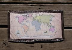 World Map AAQI Quilt