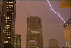 (matt.sellars) Tags: city chicago storm weather night cityscape awesome cities chitown lightning storms geotag epic chicagoland chicagoil windycity 2011 thewindycity stormnight 5dmarkii 5dmark2