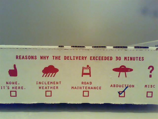 Pizza box ideas