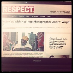 Respect Magazine interview... (COLOR OF LIFE Branding) Tags: celebrity photography photographer delaware wilmington common kanyewest editorialdesign coloroflife iamyou andrewright iphone4 mutemagazine coloroflifeincmrwright coloroflifeinc andrewrightjr johnnynunez iphoneography respectmagazine wherelifeiscreated