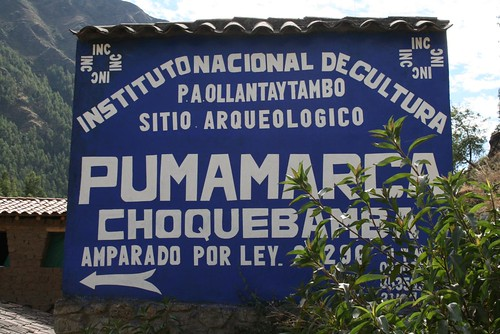 Trail to Pumamarca