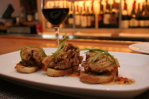 grapeseed's fried chicken livers