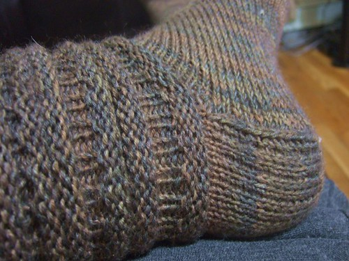 Very Tall Tibetan Socks (3)