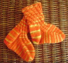 twisty toddler sock