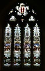 Binton, Warwickshire, St Peter's.  Scott of the Antarctic window. (Tudor Barlow) Tags: winter england churches stainedglass warwickshire parishchurch kempe scottoftheantarctic robertfalconscott tamron1750 binton warwickshirechurches