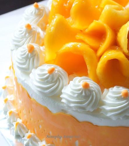 Mango Party Cake