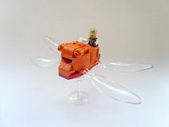 Lego Laputa Ornithopter 01 (JonHall18) Tags: anime lego miyazaki ghibli laputa moc ornithoptor