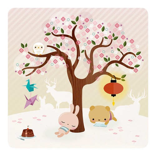 Our favourite tree (by ^w^ *o* `-´ u_u)
