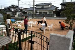 Dog Cafe WITH(安曇野市)のドッグランエリア