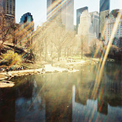 take it where the love is given take it with a pinch of salt take it to the taxman. (OuroborosX) Tags: lomo xpro lomography crossprocessed centralpark pinhole diana