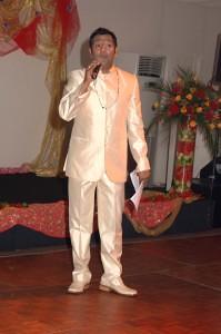MC - actor Nitin Ganatra