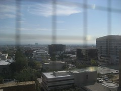 View from the OC Courthouse 10th floor. (03/04/2008)