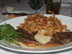Yummy ummy Steak Roquette