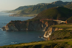 When the Cliffs Reach the Sea (Phijomo) Tags: california nature landscape outdoors nikon bigsur highway1 pacificocean norcal californiacoast bixbybridge d80 abigfave nikond80 anawesomeshot excellentphotographerawards