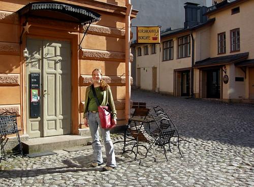 Kirjakahvila (The Book cafe)